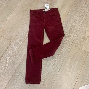 H&M red cords NWT size 10